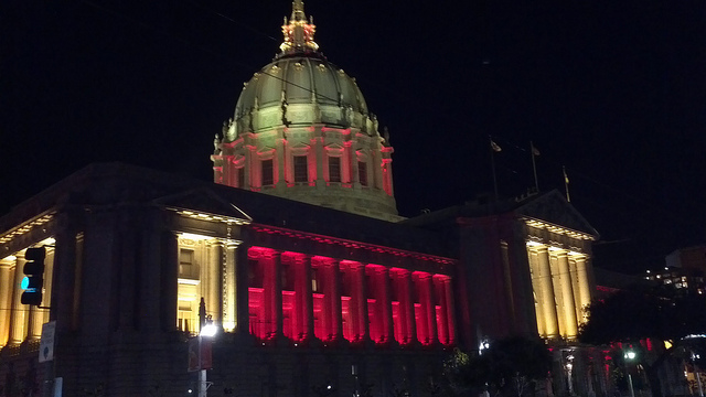 SF capitol building - 49ers